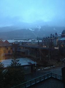Rainy Whistler