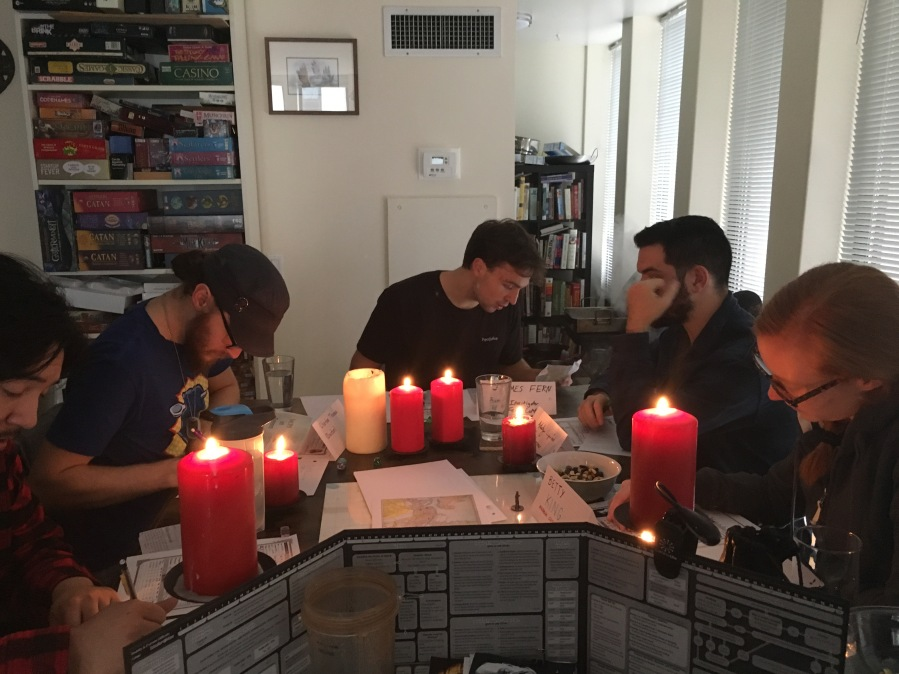 Call of Cthulhu RPG Session